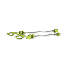 Sixpack Chopstix Schnellspanner-Set electric-green